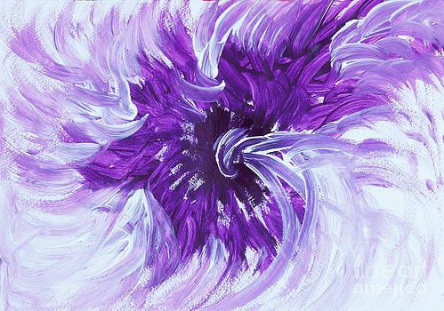 Violet light by Robyn Esterhuysen