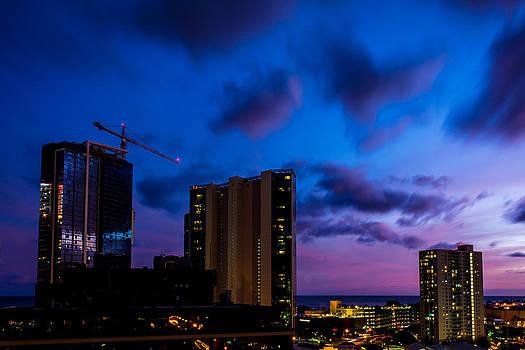 Violet Skies by John Perez