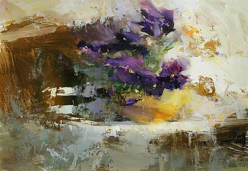 Violets by Tibor Nagy