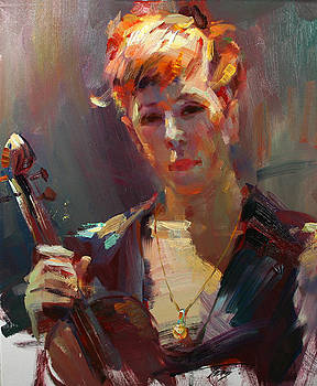 Violinist by Tony Song