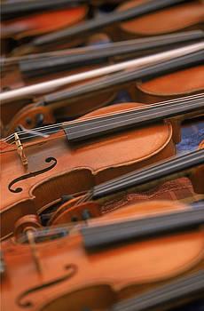 Violins by Keith May
