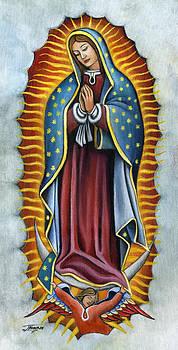 Virgen de Guadalupe by Jorge Namerow