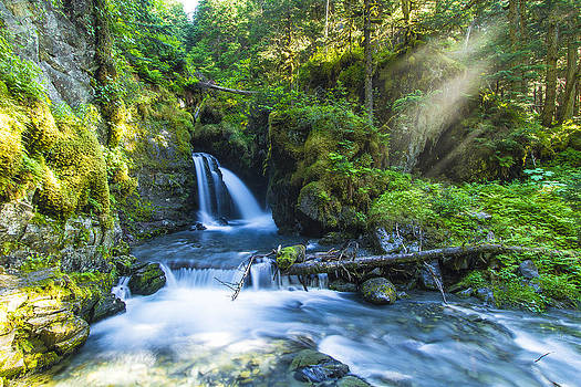 Virgin Falls by Kyle Lavey