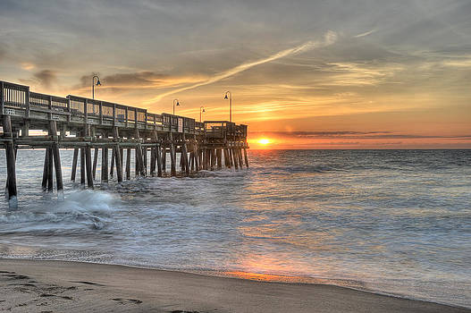 Virginia Beach Sunrise by David Clark