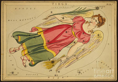 Science Source - Virgo Constellation Zodiac Sign 1825