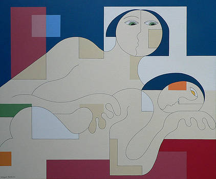 Virtual Desire by Hildegarde Handsaeme
