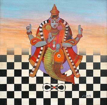 Vishnu by J W Kelly
