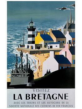Visitez La Bretagne by Vintage