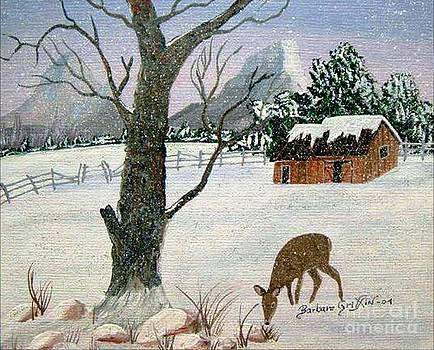 Barbara Griffin - Visiting Young Doe