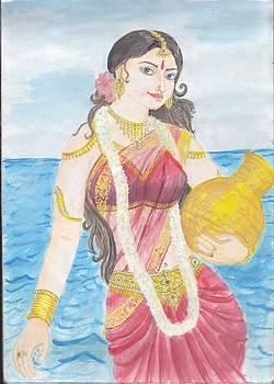 Visnu Mohini by Parimala Devi Namasivayam