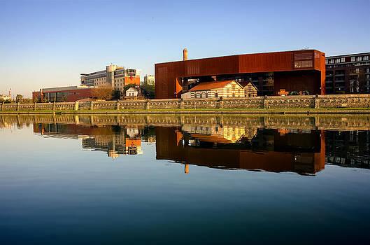 Vistula River 2 by Tomasz Dziubinski