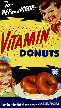 Science Source - Vitamin Donut