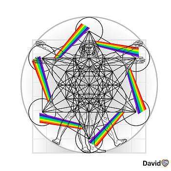 Vitruvian Man version 3.0 by David Diamondheart