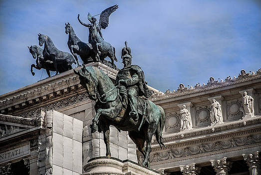 Vittorio Emanuele II Monument In Rome by Dany Lison