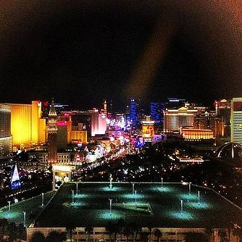 Viva Las Vegas! The View From Our Suite! by A R