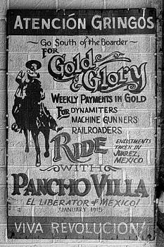 Richard Reeve - Viva Revolucion - Pancho Villa Wall