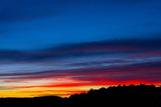 Veronica Vandenburg - Vivid Sunset in Sedona