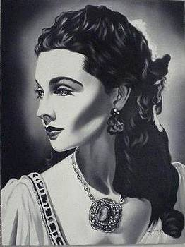 Vivien Leigh - Gone with the wind by Hector Monroy