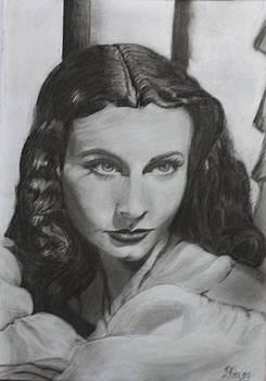 Vivien Leigh by Ira Florou