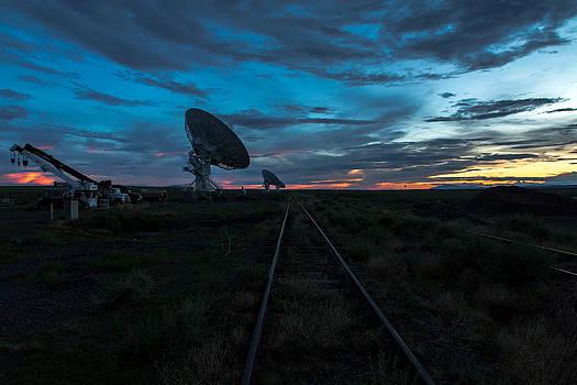 John Daly - VLA Train Track Sunset
