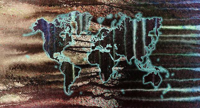 Hakon Soreide - Volcanic Eruption World Map