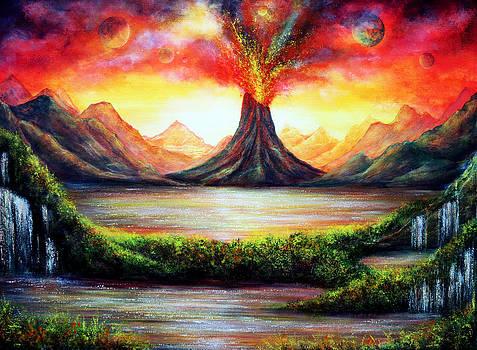 Volcano by Ann Marie Bone