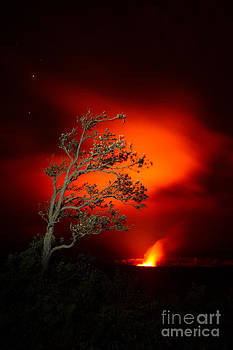 Volcano National Park Glow All Profits go to Hospice of the Calumet Area by Joanne Markiewicz