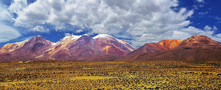 Volcanoes of Arequipa by Nathalie Deslauriers