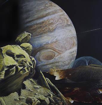 Volcanos on Io  by Simon Kregar