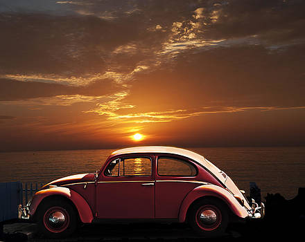 Larry Butterworth - VOLKSWAGEN BEETLE  CALIFORNIA SUNSET