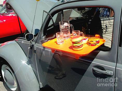 Gail Matthews - Volkswagen Bug has lunch