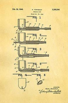 Ian Monk - Vonnegut Tobacco Pipe Patent Art 1946