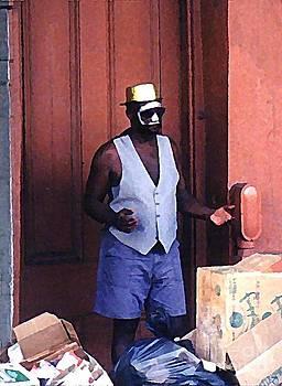 John Malone - Voodoo Busker in New Orleans