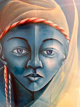 Voodoo vision. by Haitian artist