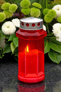 Votive candle by Borislav Marinic