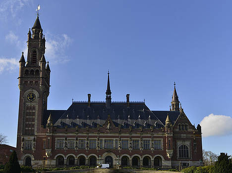 Vredepaleis Peace Palace the Hague by Eric Keesen