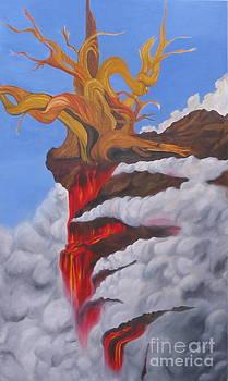 Burning Tree by Richard Dotson