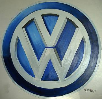 Richard Le Page - VW Logo Blue