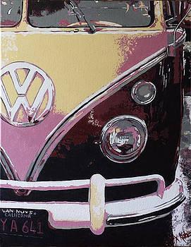 VW Van by Alexandra  Kube