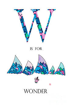 W is for Wonder by Emily Lupita Studio