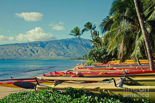 Waa Kaulua O Kihei Maui Hawaii by Sharon Mau
