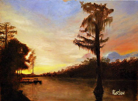 Waccamaw Evening by Phil Burton