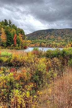 Wachusett Mt. in Autumn by Donna Doherty