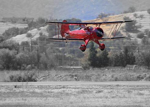 John King - Waco YMF Fly-By N685AF