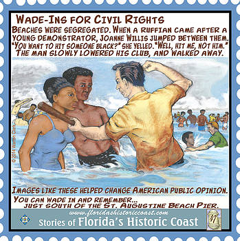 Wade-Ins for Civil Rights by Warren Clark