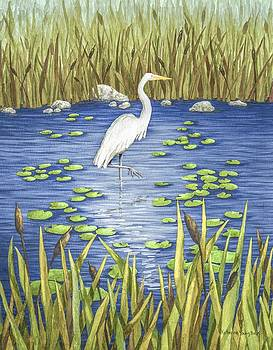 Wading and Watching by Katherine Young-Beck