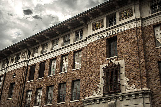 Waggener Hall by Tejas Prints