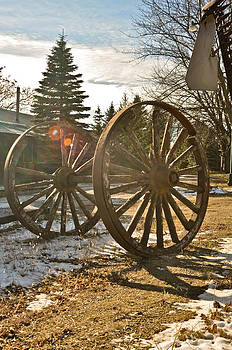Wagon Wheel 2 by Kenny Jalet