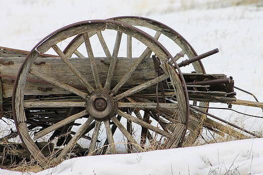 Wagon Wheel by Peter Kotzbach