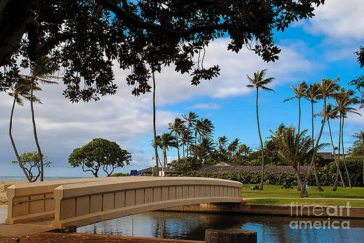 Waialae Beach Park Bridge Too by Lisa Cortez